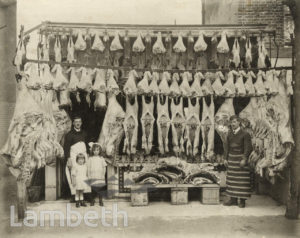 W. CROUCH, BUTCHER, 121 NORWOOD HIGH STREET, WEST NORWOOD