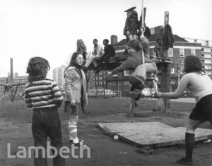 PLAYGROUND, KENNINGTON PARK, BOLTON CRESCENT, KENNINGTON