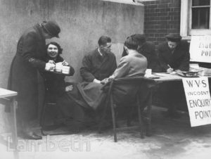 WOMEN'S VOLUNTARY SERVICE INCIDENT ENQUIRY POINT
