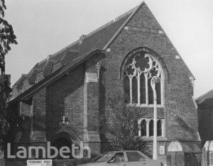 TRINITY PRESBYTERIAN CHURCH, PENDENNIS ROAD, STREATHAM
