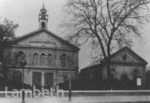 TRINITY BAPTIST CHURCH, NEW PARK ROAD, STREATHAM HILL