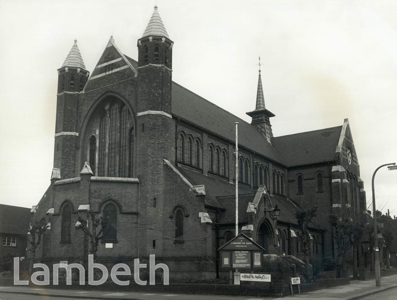ST MARGARET'S CHURCH, BARCOMBE AVENUE, STREATHAM HILL