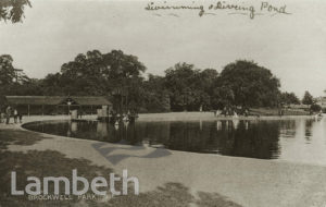 SWIMMING & DIVING POOL, BROCKWELL PARK, HERNE HILL