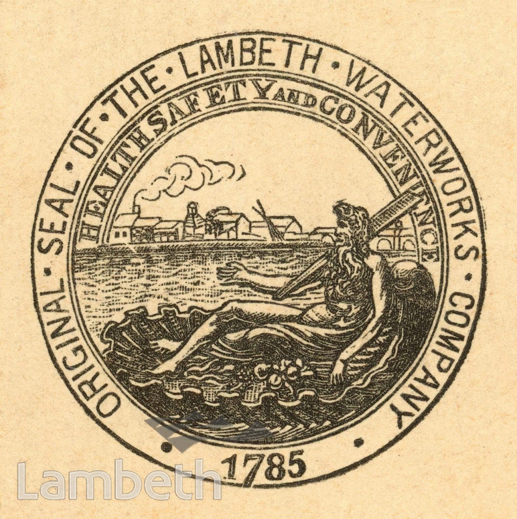 LAMBETH WATERWORKS COMPANY SEAL