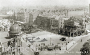 BRIXTON ROAD FROM TOWN HALL TOWER