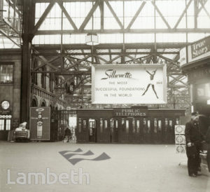 CONCOURSE, WATERLOO STATION