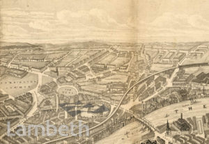 AERIAL VIEW OF VAUXHALL
