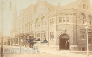 UPPER NORWOOD LIBRARY, WESTOW HILL, UPPER NORWOOD
