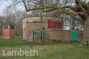WORLD WAR II DEEP SHELTER, CLAPHAM COMMON