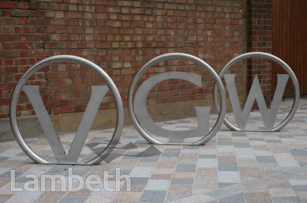 CYCLE RACKS, VAN GOGH WALK, STOCKWELL/ BRIXTON NORTH