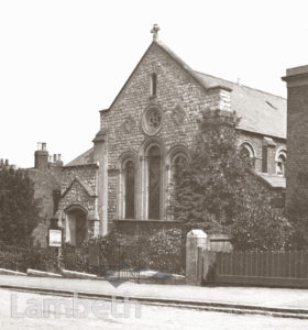 METHODIST CHAPEL, KNIGHT'S HILL, WEST NORWOOD