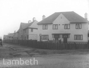 NEW COUNCIL HOUSES, GIBBS AVENUE, UPPER NORWOOD