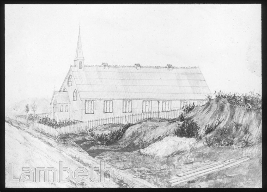 TEMPORARY BUILDING, CHRIST CHURCH, GIPSY HILL, UPPER NORWOOD