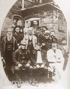 GROUP OF WEST NORWOOD TRADESMEN