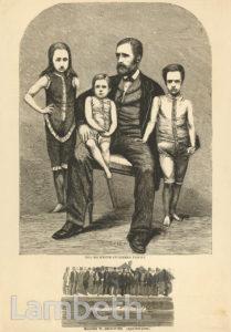 BECKWITH FAMILY, LAMBETH BATHS, OAKLEY STREET, LAMBETH