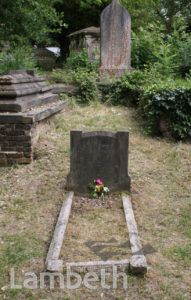 MRS BEETON'S GRAVE, WEST NORWOOD CEMETERY