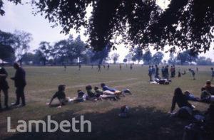 FOOTBALLERS, BROCKWELL PARK, HERNE HILL