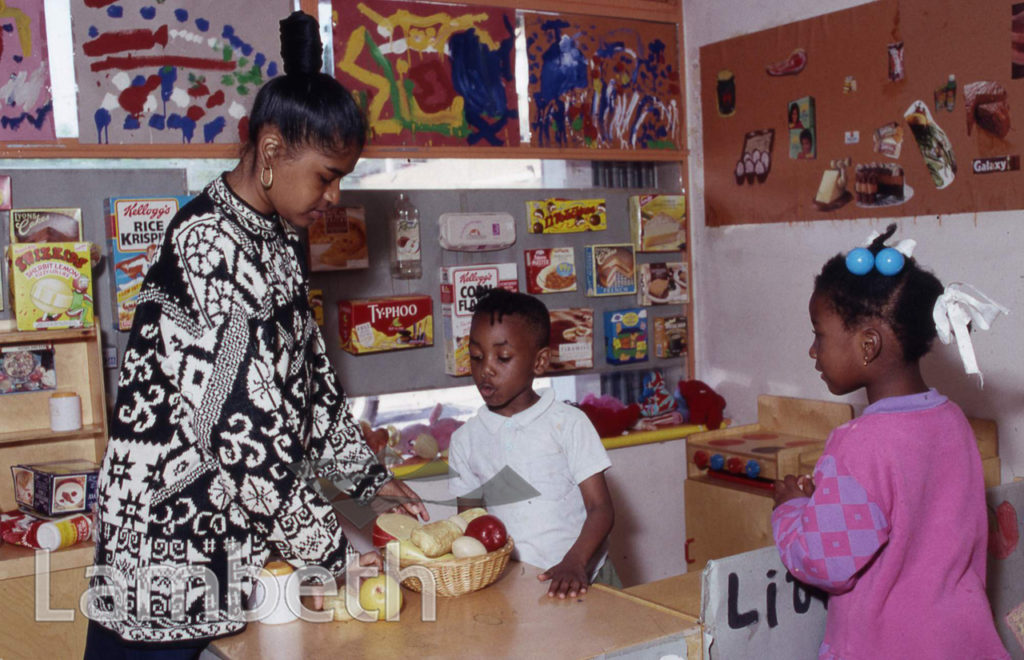 COMMUNITY CENTRE NURSERY, ANGELL TOWN, BRIXTON NORTH