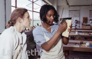 WOMEN'S WOODWORK WORKSHOP, LAMBETH