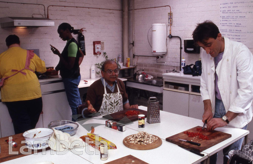 DISABILITY COOKING CLASS, REHABILITATION CENTRE, NORWOOD