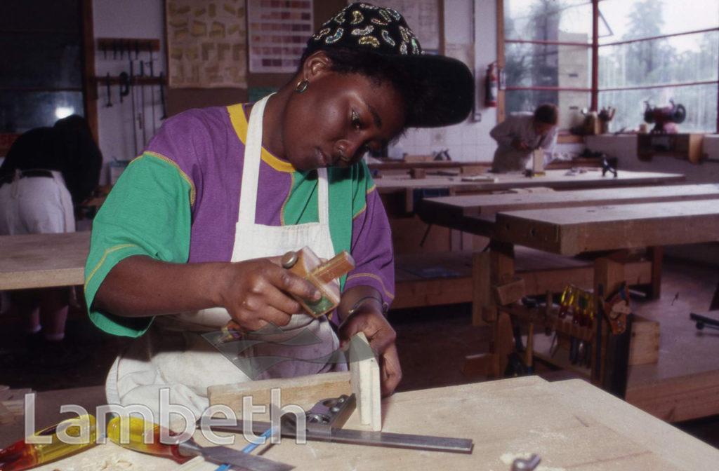 WOMEN'S WOODWORKING WORKSHOP, LAMBETH