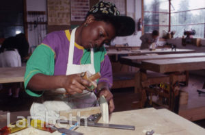 WOMEN'S WOODWORKING WORKSHOP, LAMBETH