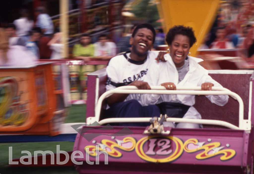 FAIRGROUND RIDE, LAMBETH COUNTRY SHOW, BROCKWELL PARK