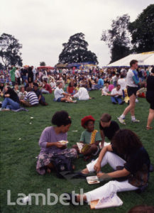 FAMILY PICNIC, LAMBETH COUNTRY SHOW, BROCKWELL PARK