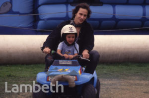 KID'S QUAD BIKE, COUNTRY SHOW, BROCKWELL PARK, HERNE HILL