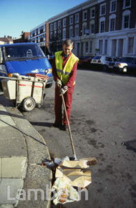 LAMBETH COUNCIL STREET SWEEPER