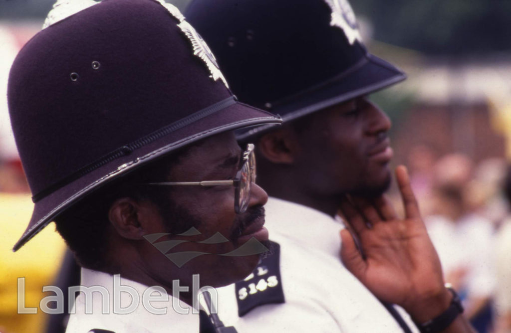 POLICE OFFICERS, LAMBETH COUNTRY SHOW