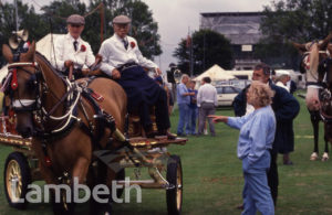 HORSE & CARRIAGE, LAMBETH COUNTRY SHOW, BROCKWELL PARK