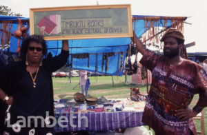 BLACK CULTURAL ARCHIVES STALL, COUNTRY SHOW, BROCKWELL PARK