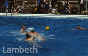 WATER POLO, FESTIVAL OF SPORT, BROCKWELL PARK, HERNE HILL