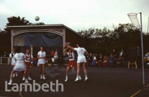 NETBALL, FESTIVAL OF SPORT, BROCKWELL PARK, HERNE HILL