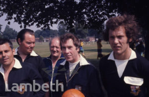 FOOTBALL REFEREES, BROCKWELL PARK, HERNE HILL