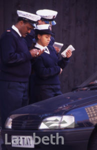 TRAFFIC WARDENS, LAMBETH