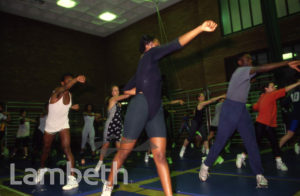 KEEP FIT CLASS, BRIXTON REC, BRIXTON STATION ROAD