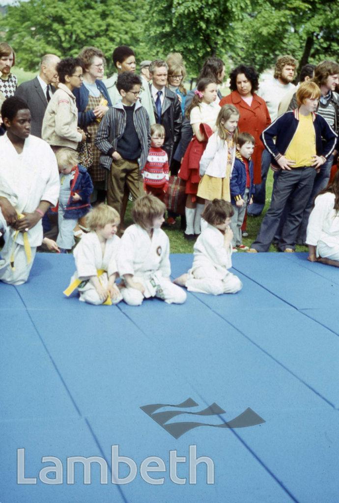 CHILDREN'S JUDO, FESTIVAL OF SPORT, BROCKWELL PARK