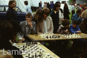 CHESS COMPETITION, FESTIVAL OF SPORT, BROCKWELL PARK