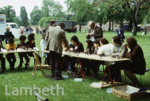 CHESS MATCH, FESTIVAL OF SPORT, BROCKWELL PARK