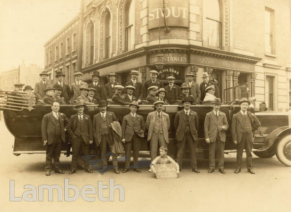 OUTING, LORD STANLEY PUB, HINTON ROAD, LOUGHBOROUGH JUNCTION
