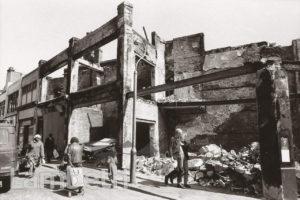 RIOT-DAMAGED SHOPS, ELECTRIC LANE, BRIXTON