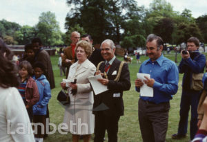 LAMBETH MAYOR, FESTIVAL OF SPORT, BROCKWELL PARK