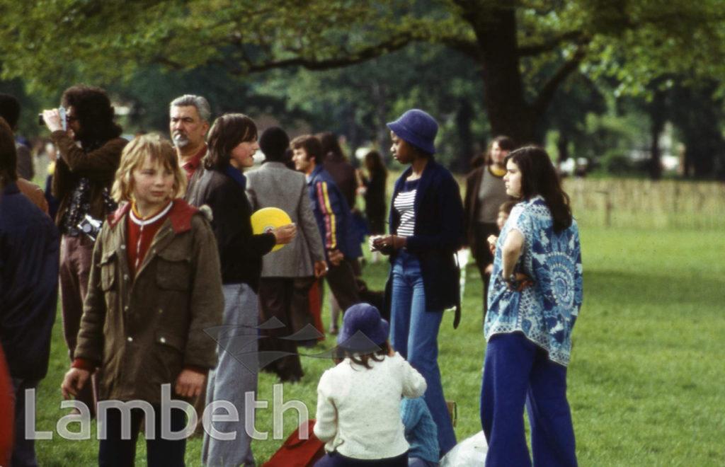 TEENAGERS, FESTIVAL OF SPORT, BROCKWELL PARK, HERNE HILL
