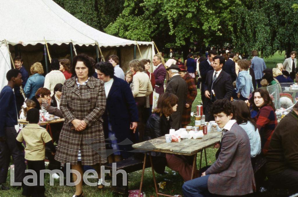 REFRESHMENTS, FESTIVAL OF SPORT, BROCKWELL PARK, HERNE HILL