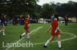 GIRLS' FOOTBALL, FESTIVAL OF SPORT, BROCKWELL PARK