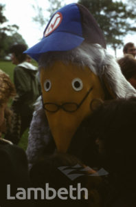 WOMBLE, FESTIVAL OF SPORT, BROCKWELL PARK, HERNE HILL