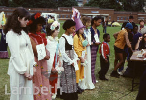 FANCY DRESS, FESTIVAL OF SPORT, BROCKWELL PARK, HERNE HILL