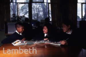 PUPILS, STOCKWELL PARK SCHOOL, STOCKWELL